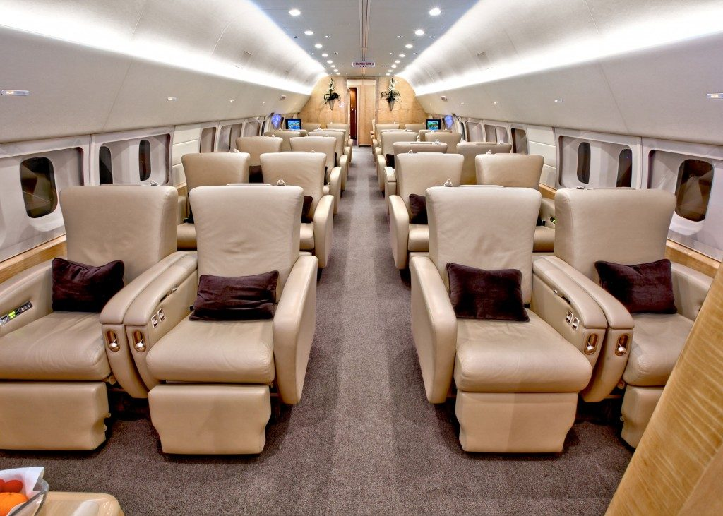 BoeingBusinessJet BBJ - private jets - air charter - charter flight