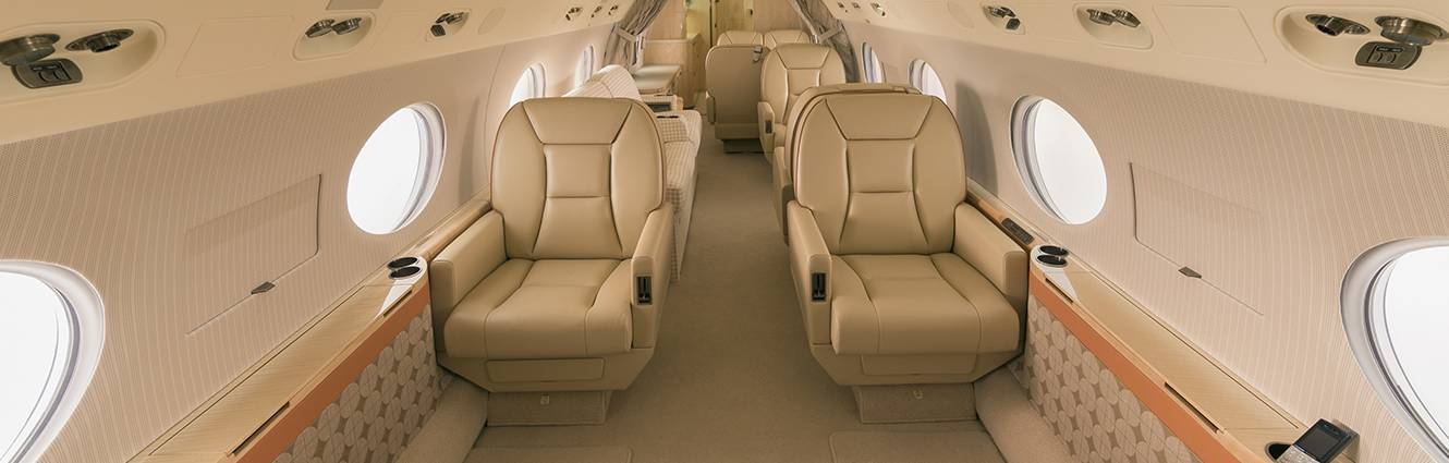 G interior - private jets - air charter